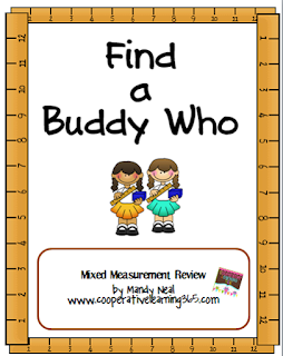, Measurement with Find a Buddy Who