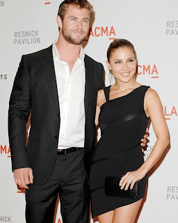 chris hemsworth elsa-pataky thor