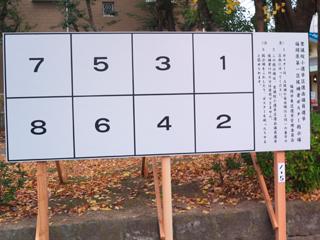 選挙ポスターが貼られる掲示板の写真