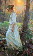 Niñas vestidas de blanco