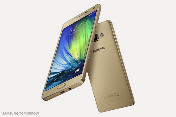 Spesifikasi dan Harga Samsung Galaxy A7 Terbaru 2015