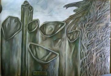 Бах-токката (левая часть триптиха)