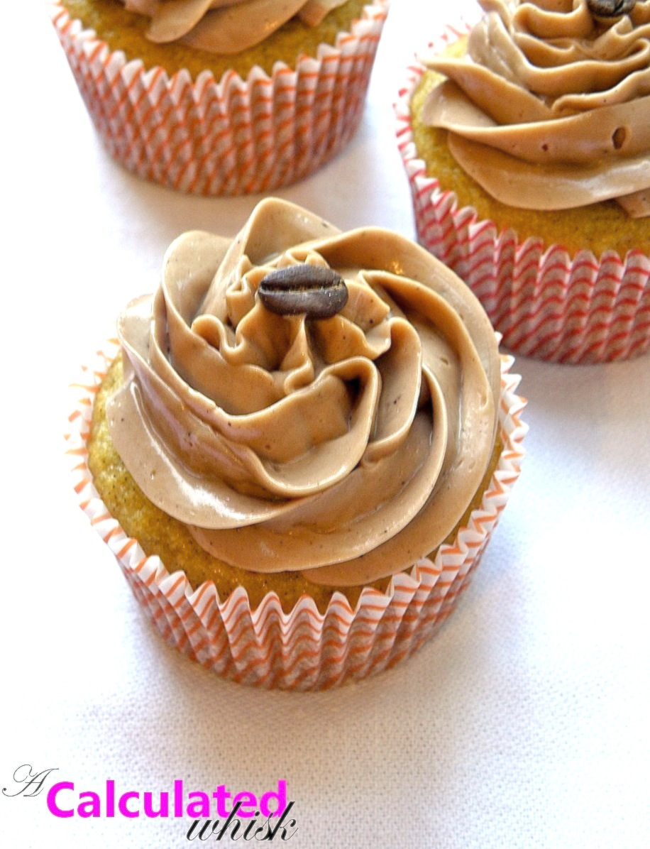 Calculated Whisk: Vanilla Bean Cupcakes with Mocha Buttercream ...