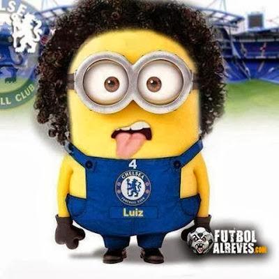 Minion de David Luiz Chelsea