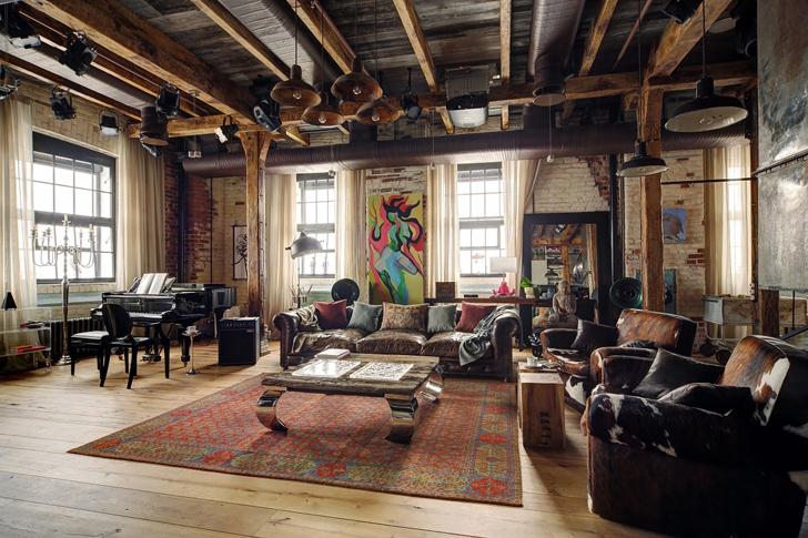 Casinha colorida home tour verdadeiro loft r stico for Loft rustico