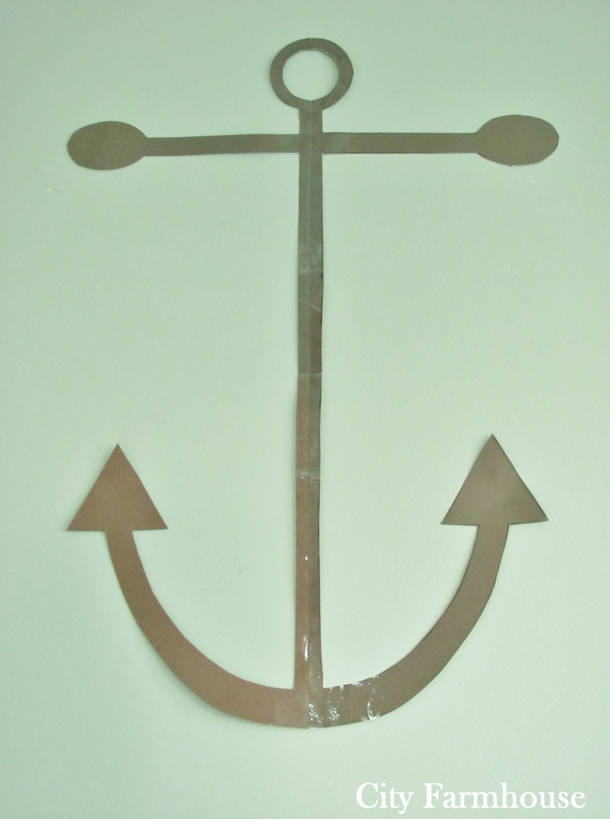Simple Anchor Silhouette
