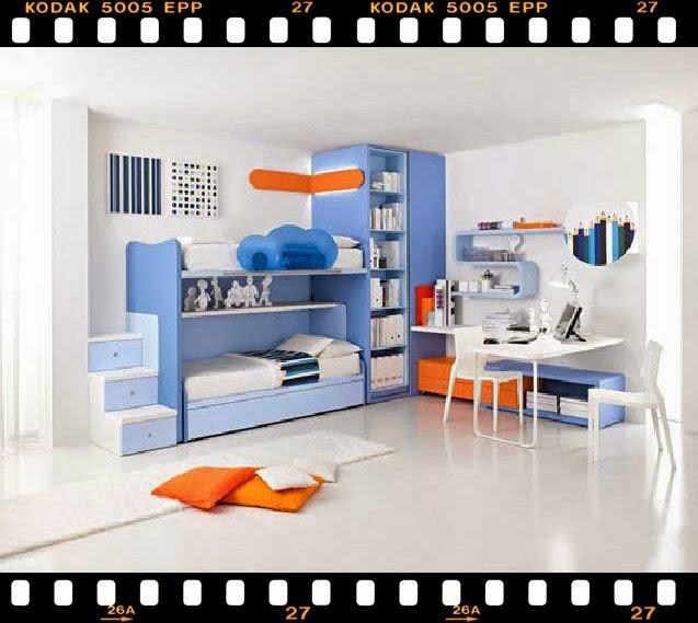 bagaimana desain kamar tidur anak anda