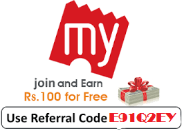 Refer and Earn upto Rs.750 Cashback on BookMyShow App Wallet offer