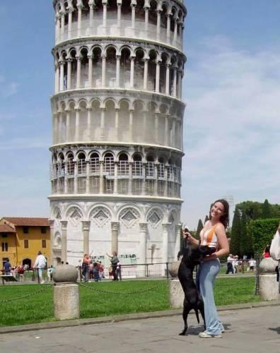 Ninah em Pisa - Itália