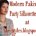 Modern Pakistani Party Silhouette For Women 2012