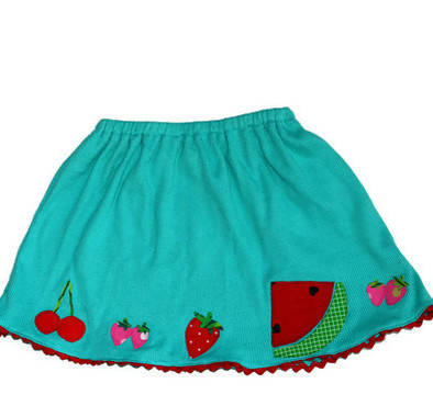 applique skirt sewing