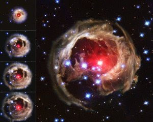 An original picture of red super giant star taken from Hubble space telescope (topicswhatsoever.blogpsot.com)