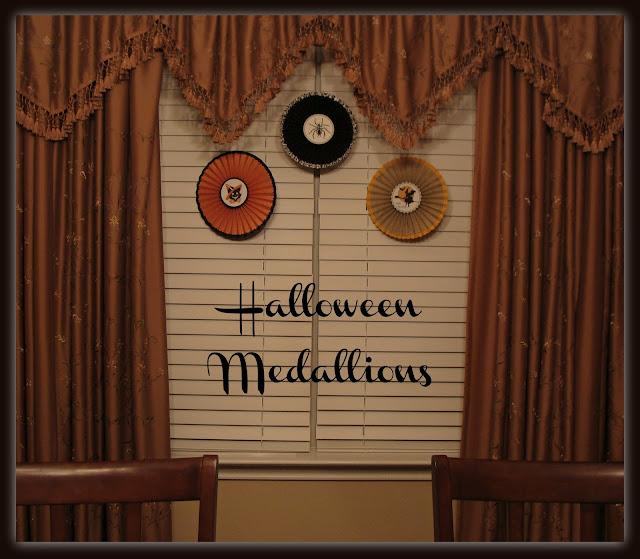 Vintage Halloween, Paper Medallions