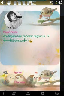 BBM Mod Love Bird Themes Versi 2.10 Terbaru