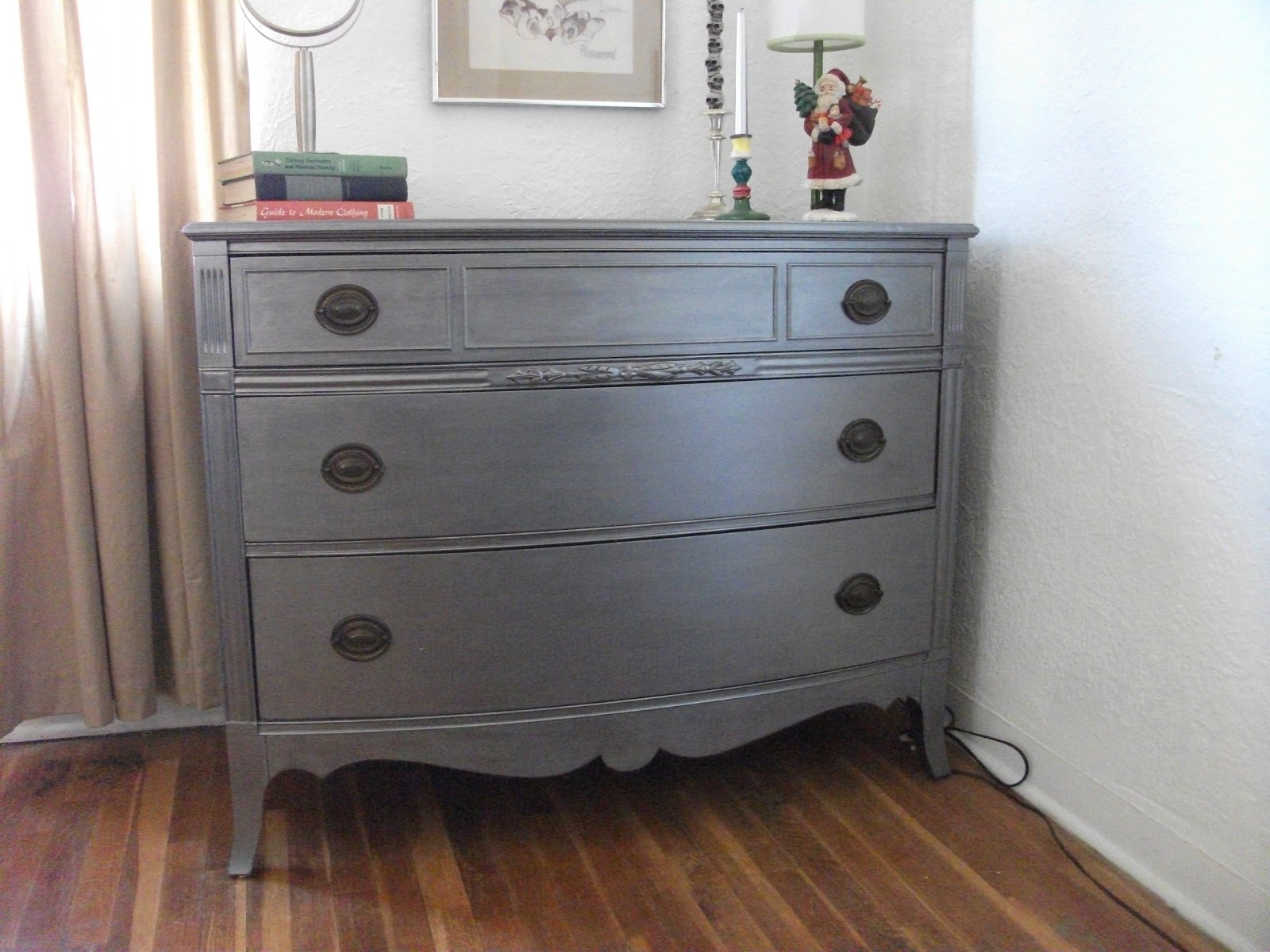 Personality is preferred paint your dresser metallic Best color to paint dresser