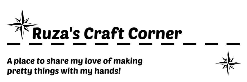 Ruza's Craft Corner