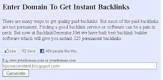 Cara Mudah Mendapatkan Backlink dari Backlink Generator