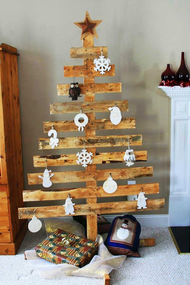 Arboles de Navidad con Palets Reciclados