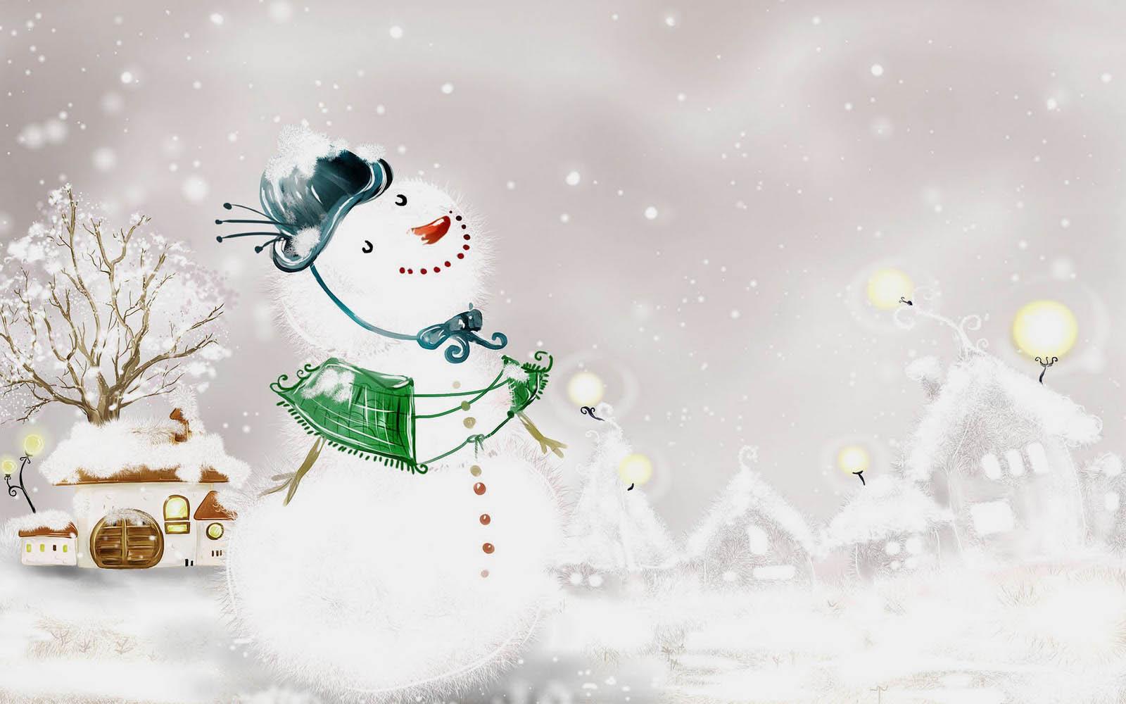 Gallery Mangklex Snowman Wallpapers 2013