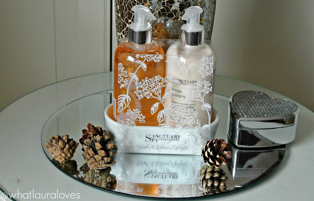 Sanctuary Spa Wash and Lotion Delight gift set