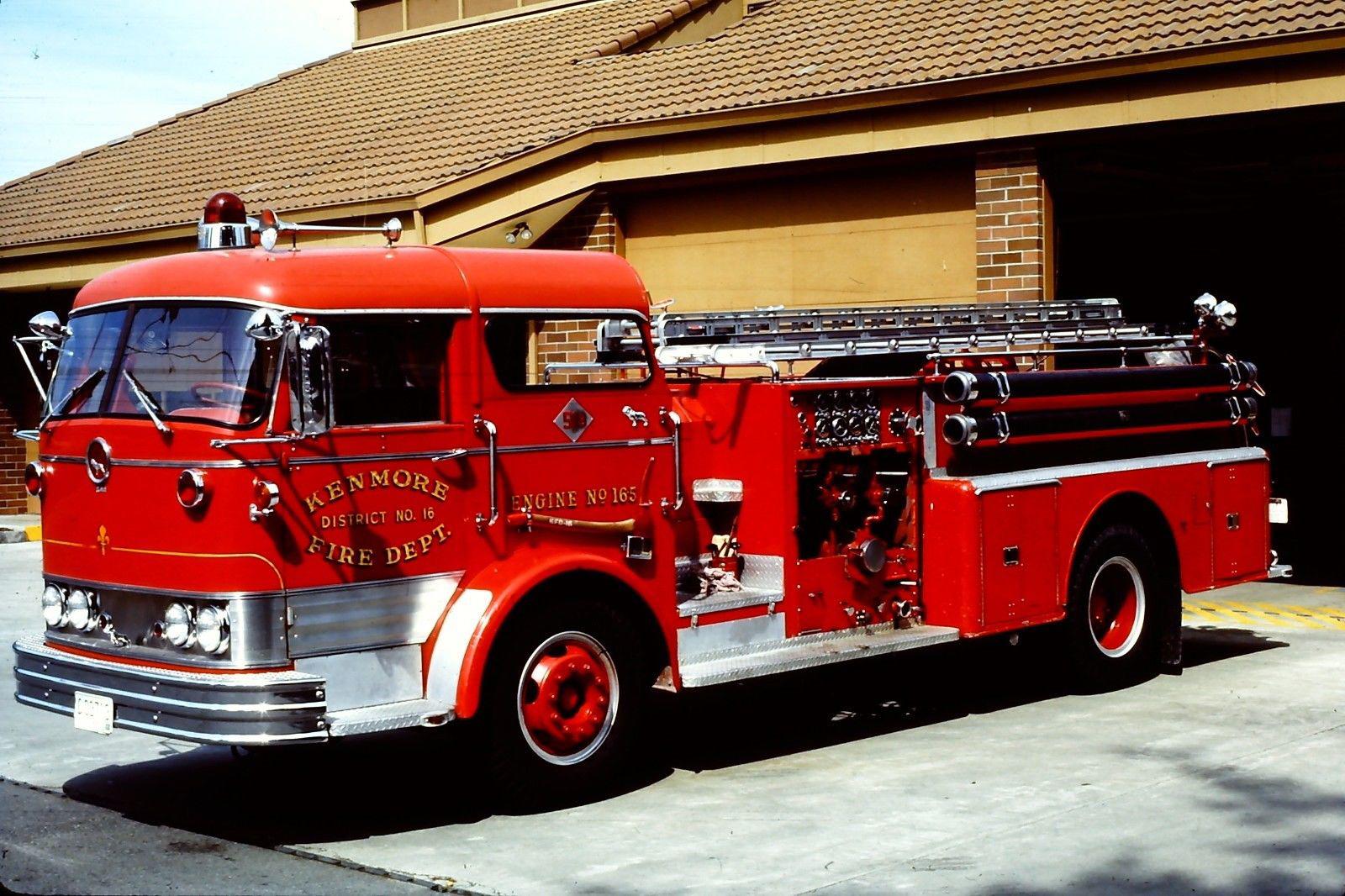 Mack C Model Trucks : Transpress nz mack c model pumper firetruck