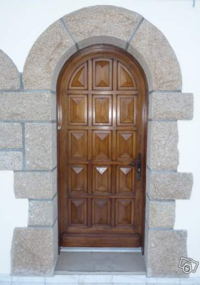Granite Arch Entrance Door