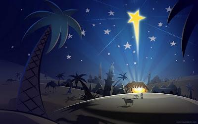 Acá una pequeña reflexión de la Estrella de Belén.