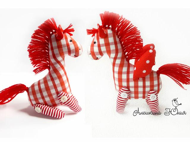 лошадка игрушка мастер-класс