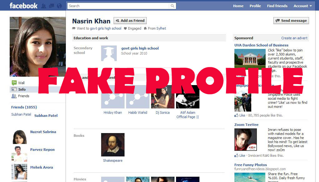 network it s very important to smear fake facebook profiles