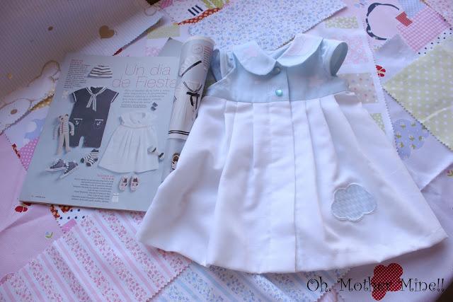 Vídeo tutorial vestido de bebe. Como hacer ropa bebe DIY