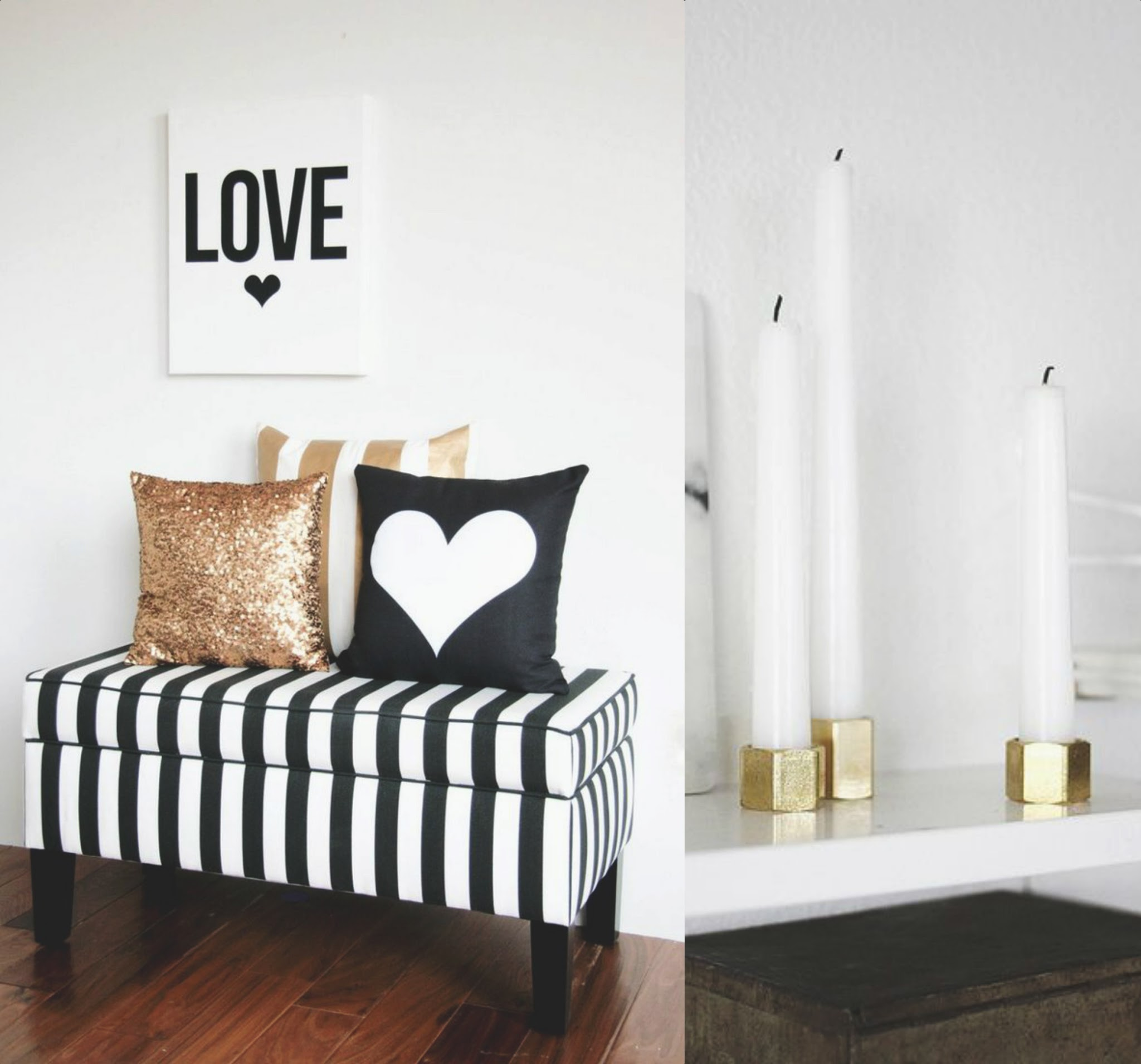 gold accents home decor fever