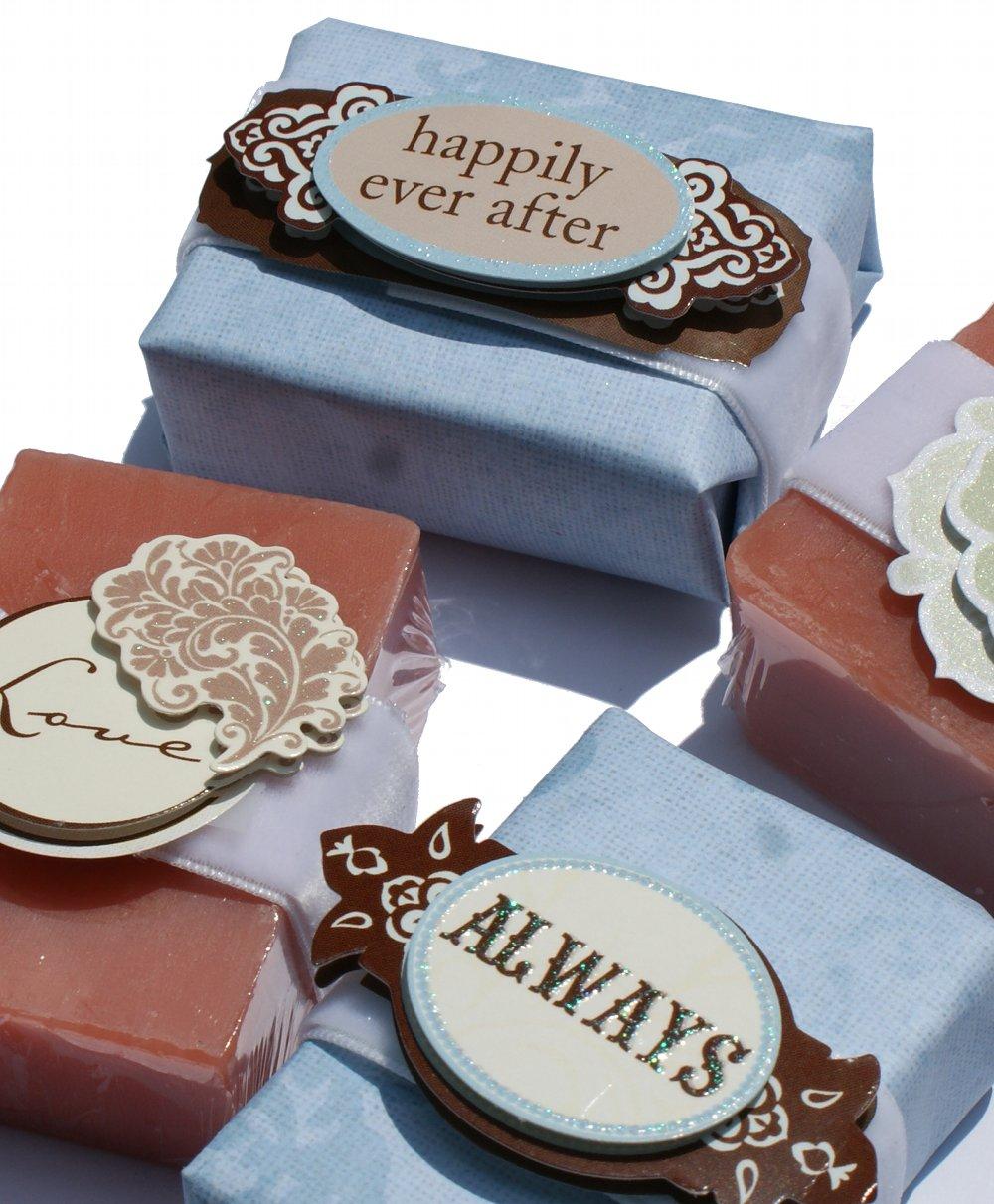 handmade soap wedding favor tutorial