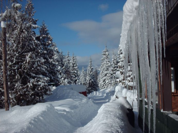 Winter auf dem Sunny - Hill