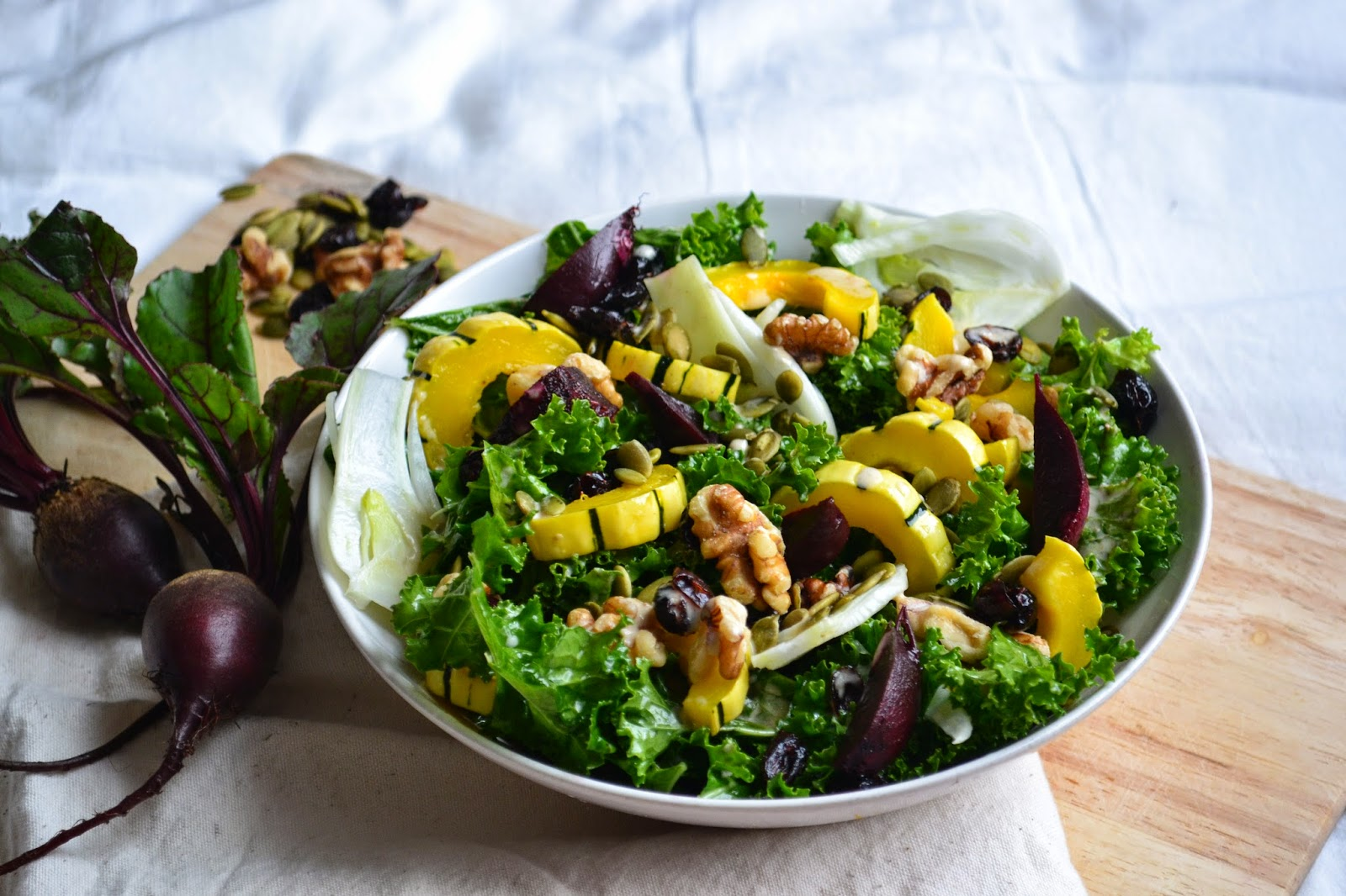 Nourish The Roots: Fall Cleanse Kale Salad