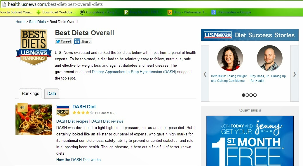 Dash diet ~ How to build muscles