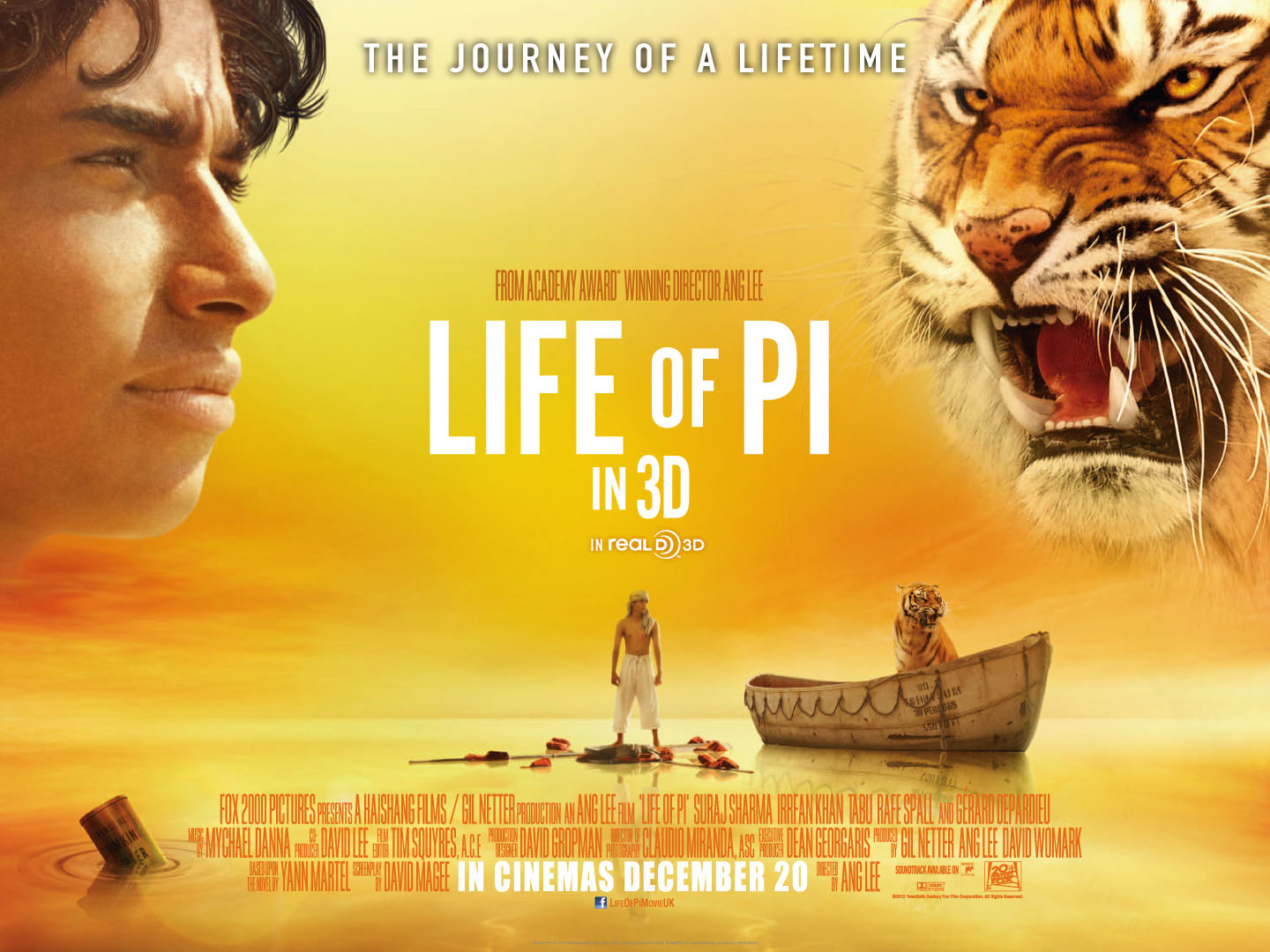 Life of Pi  by Yann Martel     World of Books National Geographic Voices