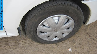 Renault logan car 2013 tyres/wheels - صور اطارات سيارة رينو لوجان 2013