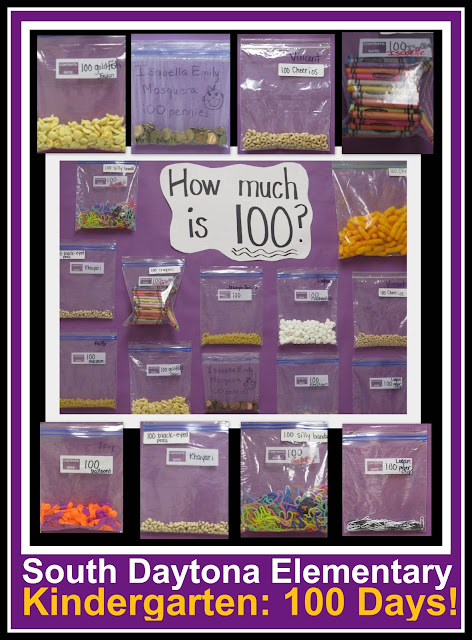 photo of: 100 Day Bulletin Board, 100 Day celebration