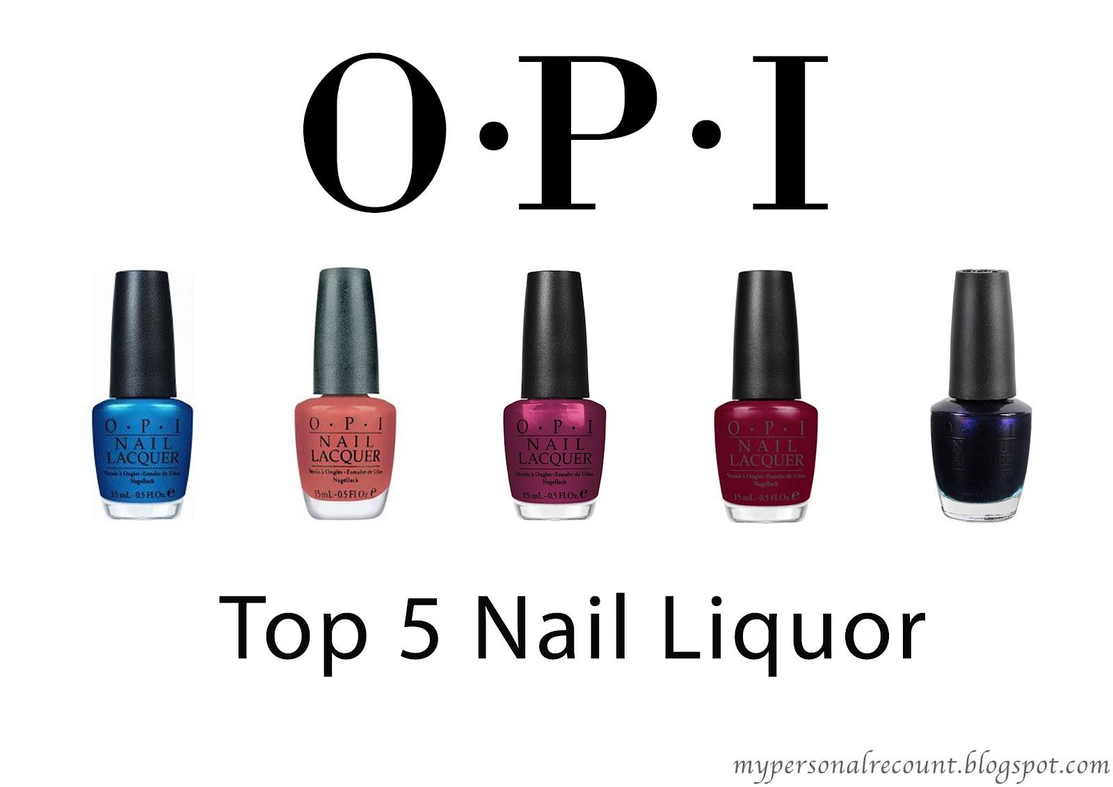 Top 5 OPI Nail Liquor/Polish   Andrea Flavia William   MUSIC ...
