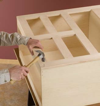 and bathroom renovation how to build a base kitchen cabinet 02