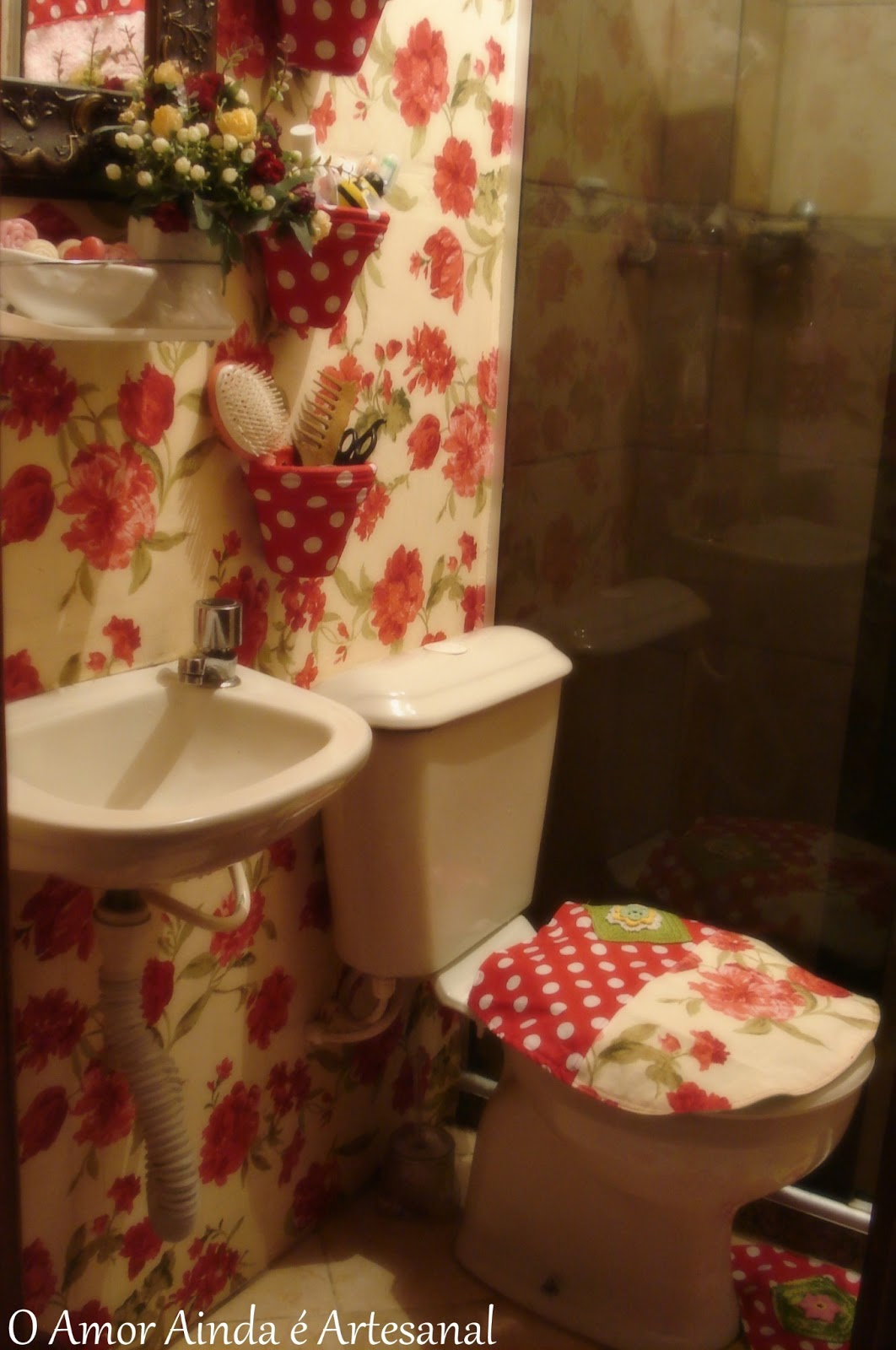 Os Vasinhos Para Colocar Penteescova Etcpois O Meu Banheiro Pictures #AE851D 1062 1600