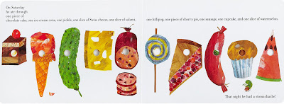 Very Hungry Caterpillar Junk Food Book Design - Cover to...