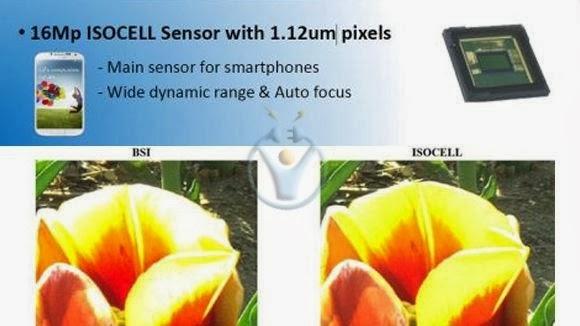 galaxy s5 ve note 4 kamerası Isocell sensör
