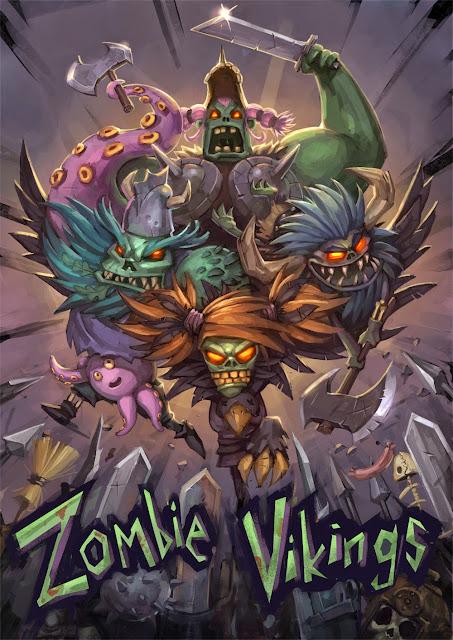 Conviértete en un zombie (literalmente) en Zombie Vikings, un beat'em up a punto de caramelo