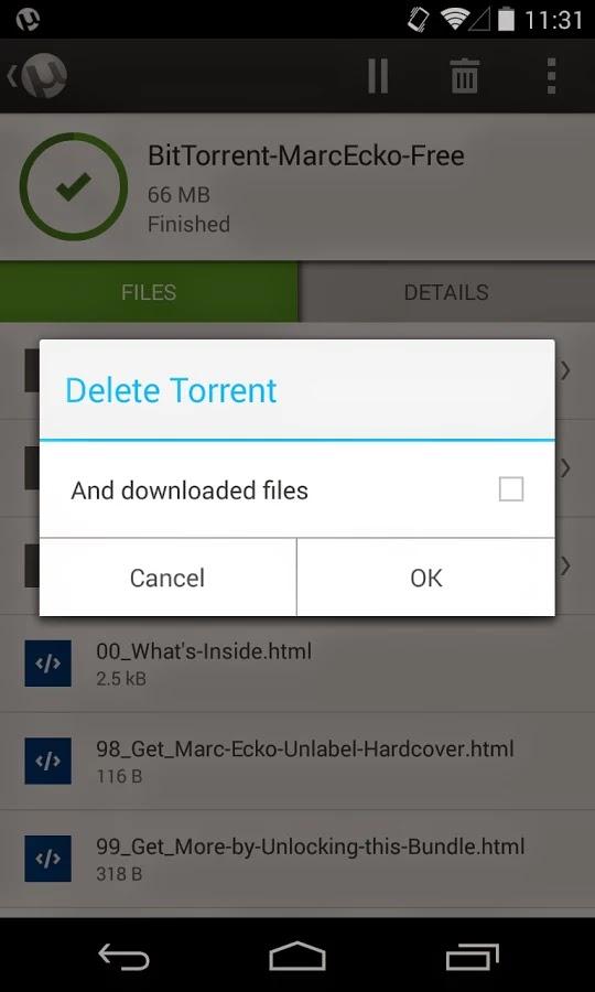 µTorrent® Pro - Torrent App v2.05