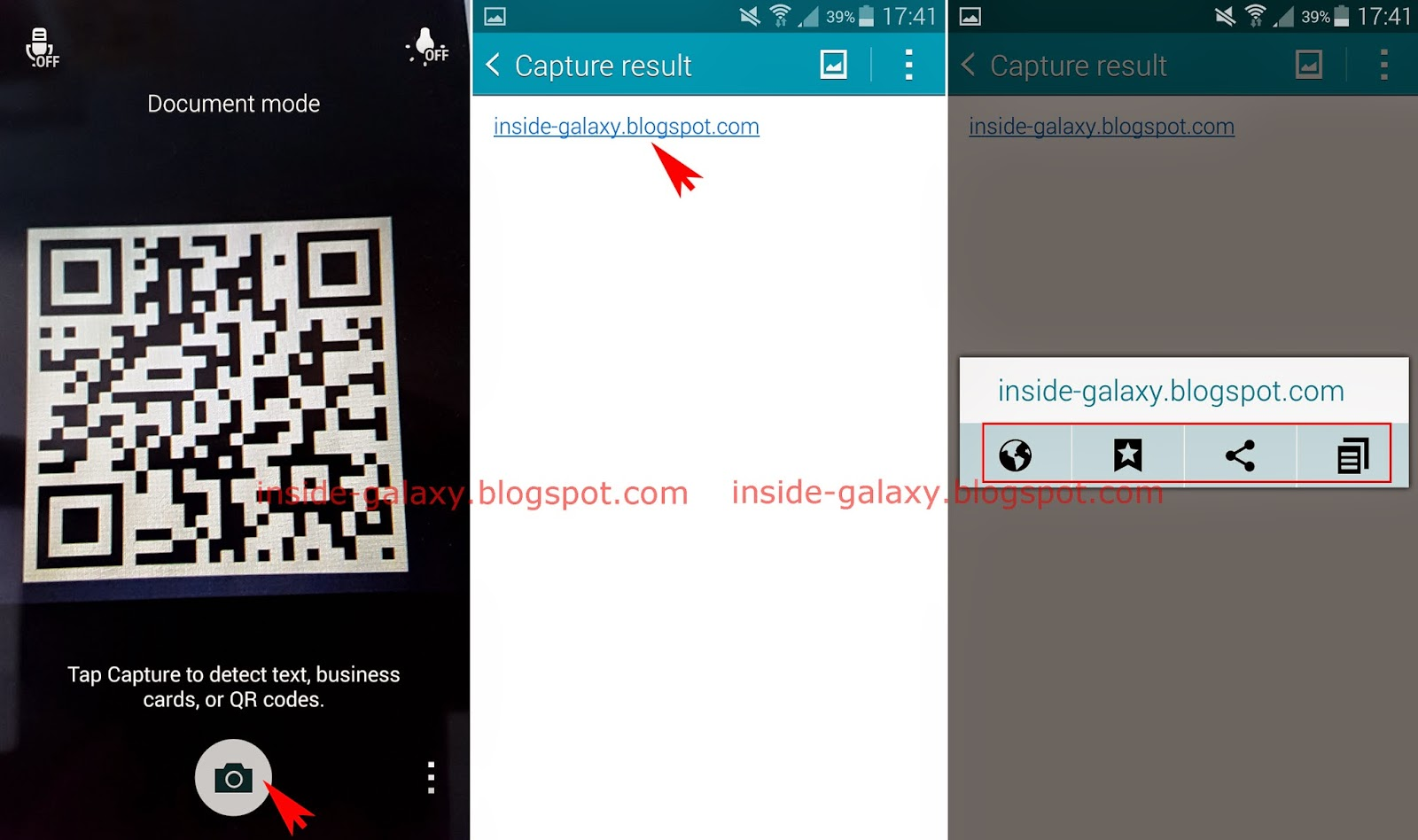 qr code app samsung