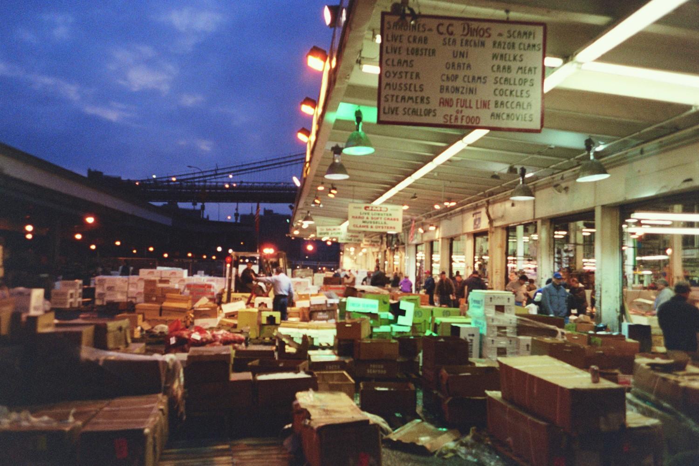 Archideology fulton fish market south street seaport for Fish market bronx