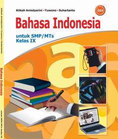 Resensi buku bahasa indonesia untuk SMP/MTs Kelas IX Penulis Atikah