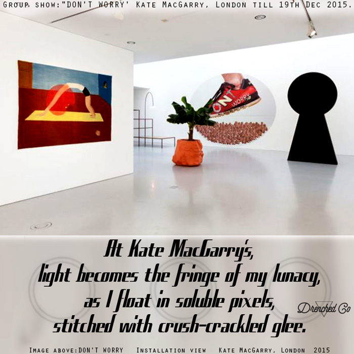 Image of Kate MacGarry, London with art exhibition review by Drenched Co.
