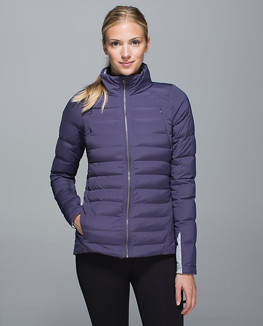 lululemon nightfall fluffed up jacket